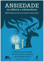 Livro - Ansiedade na infância e adolescência