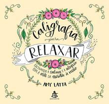 Livro - Caligrafia para relaxar