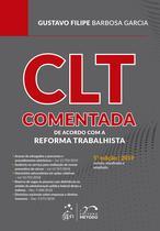 Livro - CLT Comentada - De acordo com a Reforma Trabalhista