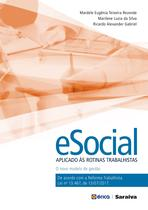 Livro - E-social aplicado às rotinas trabalhistas