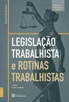 Livro - Legislação trabalhista e rotinas trabalhistas