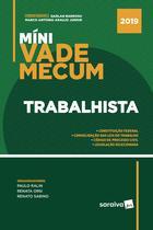 Livro - Míni Vade Mecum trabalhista - 1ª edição de 2019
