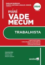 Livro - Mini Vade Mecum Trabalhista - 2ª edição de 2020 (Meu Curso)