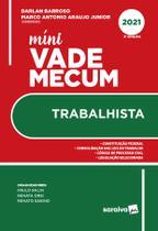 Livro - Mini Vade Mecum Trabalhista - 3 ª Edição 2021