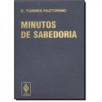 Livro - Minutos de sabedoria - capa plástica