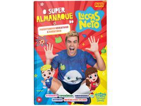Livro O Super Almanaque do Luccas Neto