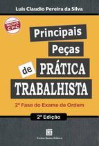 Livro - Principais peças de prática trabalhista
