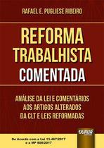 Livro - Reforma Trabalhista Comentada