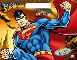 Livro - Super-homem - Super-homem em ação!