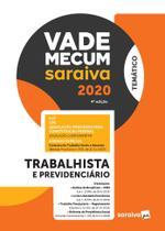 Livro - Vade Mecum Trabalhista - Temático - 4ª edição de 2020