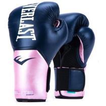 Luva de Boxe Everlast Elite ProStyle Azul e Rosa