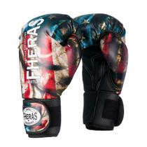 Luvas Boxe Muay Thai Top USA - Fheras - 10/ 12 / 14 OZ