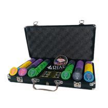 Maleta Mojave Com 300 Fichas De Poker Em Cerâmica - Cash