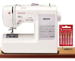 Máquina De Costura Singer Patchwork 7285 220v +  Agulhas 204511 C/10