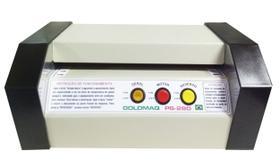 Máquina plastificadora Ps 280 profissional rolos de silicone