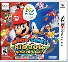 Mario & Sonic At The Rio 2016 Olympic Games 3ds Lacrado