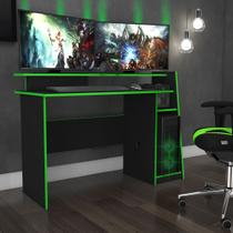 Mesa de Computador Gamer Evolution 1,30m MSM 448 Movelbento