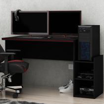 Mesa Para Computador Gamer Gelius - Preto