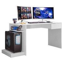 Mesa Para Computador Gamer Mobler Cor Branco