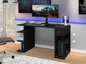 Mesa para Computador Gamer Potente Moveis preto