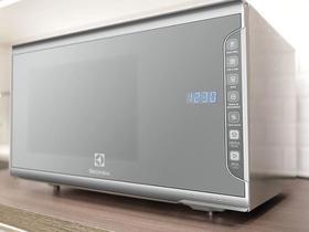 Micro-Ondas Electrolux 31 Litros com Painel Integrado - Prata - 127V - MI41S