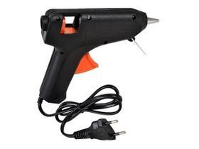 Mini Aplicador Pistol.a Para Cola Quente 20w Média Bivolt 110v/220v Para Injetar Cola Quente