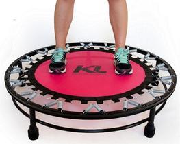 Mini Cama Elástica Trampolim Jump Profissional 150 Kg Fitness