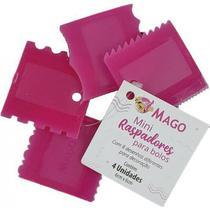 Mini Raspador Mago Rosa 4un