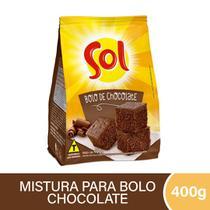 Mistura para Bolo Chocolate Sol 400g