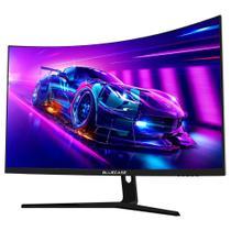 Monitor Gamer Curvo Bluecase, 27 FHD, HDMI/Display Port, 165Hz, 1ms, FreeSync, RGB, Preto - BM2715GCCASE