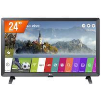 """Monitor Smart TV LED 24"""" LG 24TL520S HD 2 HDMI 1 USB WiFi"""