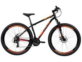 Mountain Bike Aro 29 Caloi Vulcan de Alumínio - Freio a Disco 21 Marchas