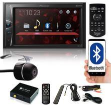 "Multimídia 2 Din Pioneer DMH-G228BT Tela 6,2"" Bluetooth USB Auxiliar TouchScreen + Câmera Ré + Receptor Sintonizador TV Digital"