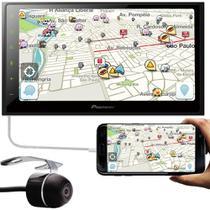 "Multimídia 2 Din Pioneer DMH-Z5380TV Tela 6.8"" TV Digital Bluetooth USB + Câmera Ré"