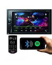 Multimídia pioneer 2 din bluetooth usb 6.2 touchscreen