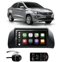 Multimídia Pioneer Fiat Cronos DMH-ZS5280TV Tv Digital Bluetooth + Câmera de Ré