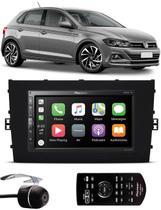 Multimídia Pioneer Vw Novo Polo 2018 2019 2020 DMH-ZS5280TV Tv Digital Bluetooth + Câmera de Ré