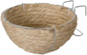 ninho de corda sisal coleira