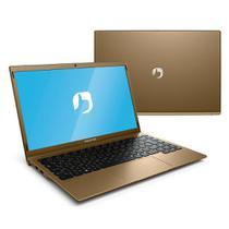 "Notebook Positivo Motion Gold 14.1"" HD, LED, Intel Atom Z8350, 4GB RAM, 64 GB eMMC, Q464C, Dourado"