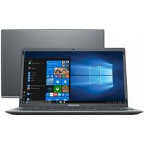 "Notebook Positivo Motion Q Q4128C Intel Atom Quad Core 4GB 128GB 14,1"" LED Windows 10 Home - Gray"