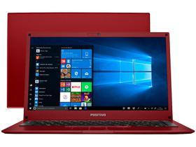 "Notebook Positivo Motion Red Q232B Intel Quad Core - 2GB eMMC 32GB 14"" Windows 10"