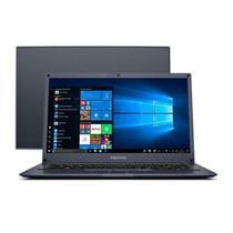 Notebook Positivo Motion Windows 10 Home Intel Atom Quad Core 2GB RAM, HD 32GB + 64GB Nuvem, Tela LCD 14 Polegadas - Preto Q232B