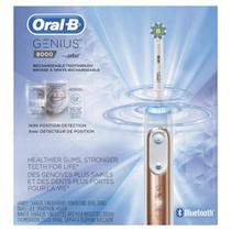 Oral-B Genius 8000 Escova de Dentes Elétrica Recarregável - Rosé Gold