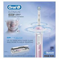 Oral-B Rose Gold Genius 9600 Escova de Dentes Elétrica Recarregável - Pink