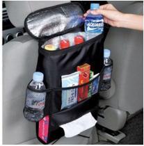 Organizador Bolsa Banco de Carro Capa Porta Treco Multiuso Cooler Bolsa Termica Carro Uber