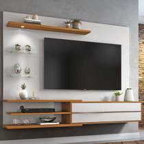 Painel NT1115 para TV até 60 Polegadas Off White / Freijó Trend