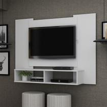 Painel Para TV Até 47 Polegadas Silver Branco Acetinado - Gelius
