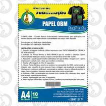Papel OBM Acetinado Pct C/10 Folhas A4 - Ponto da Sublimação