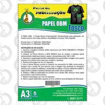 Papel OBM Fosco Pct C/05 Folhas A3 - Ponto da Sublimação