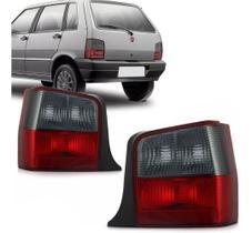 Par Lanterna Traseira Fiat Uno 2004 2005 2006 A 2010 Fumê